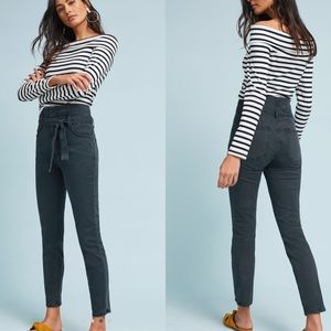 Anthropologie High Rise Skinny Cropped Jeans